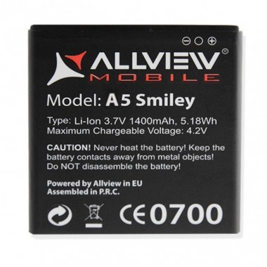 Baterie Allview A5 Smiley. Acumulator Allview A5 Smiley. Baterie telefon Allview A5 Smiley. Acumulator telefon Allview A5 Smiley. Baterie smartphone Allview A5 Smiley