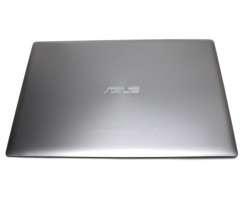 Carcasa Display Asus ZenBook UX303UA pentru laptop fara touchscreen. Cover Display Asus ZenBook UX303UA. Capac Display Asus ZenBook UX303UA Gri