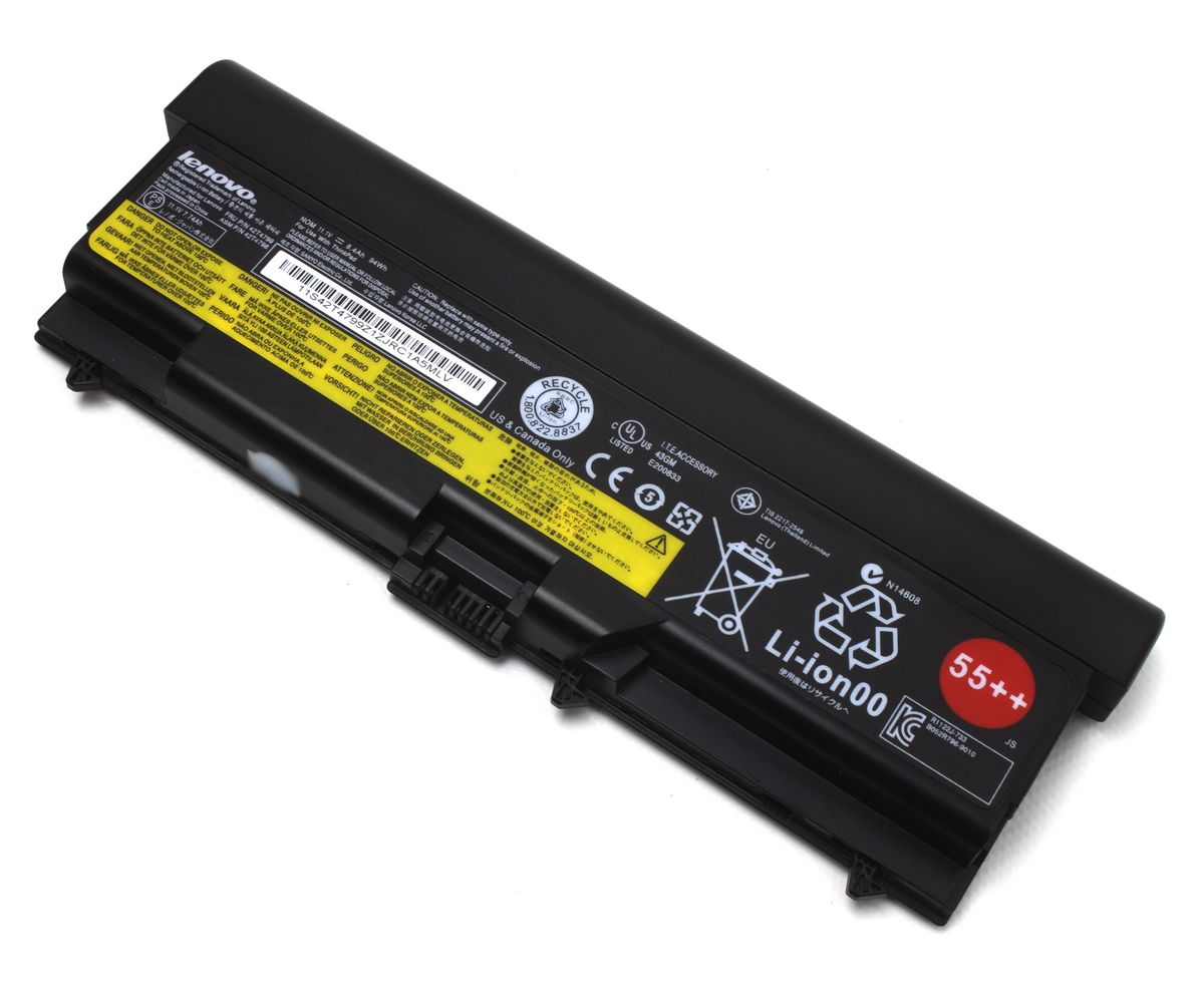 Baterie Lenovo ThinkPad L512 Originala 94Wh 55++ 9 celule imagine powerlaptop.ro 2021