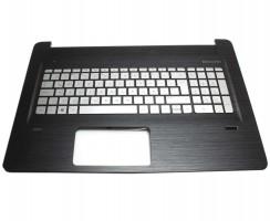 Tastatura HP  813678-161 argintie cu Palmrest negru iluminata backlit. Keyboard HP  813678-161 argintie cu Palmrest negru. Tastaturi laptop HP  813678-161 argintie cu Palmrest negru. Tastatura notebook HP  813678-161 argintie cu Palmrest negru