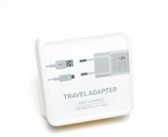 Adaptor Priza + Cablu Date Samsung Galaxy Micro USB Fast Charge OEM