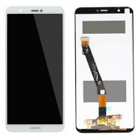 Ansamblu Display LCD + Touchscreen Huawei P Smart 2018 White Alb . Ecran + Digitizer Huawei P Smart 2018 White Alb