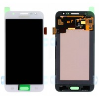 Ansamblu Display LCD + Touchscreen Samsung Galaxy J5 2015 J500 Display Original Service Pack White Alb . Ecran + Digitizer Samsung Galaxy J5 2015 J500 Display Original Service Pack White Alb