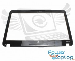Bezel Front Cover HP  636938-001. Rama Display HP  636938-001 Neagra