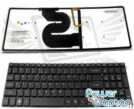 Tastatura Acer Aspire 8951G iluminata backlit. Keyboard Acer Aspire 8951G iluminata backlit. Tastaturi laptop Acer Aspire 8951G iluminata backlit. Tastatura notebook Acer Aspire 8951G iluminata backlit