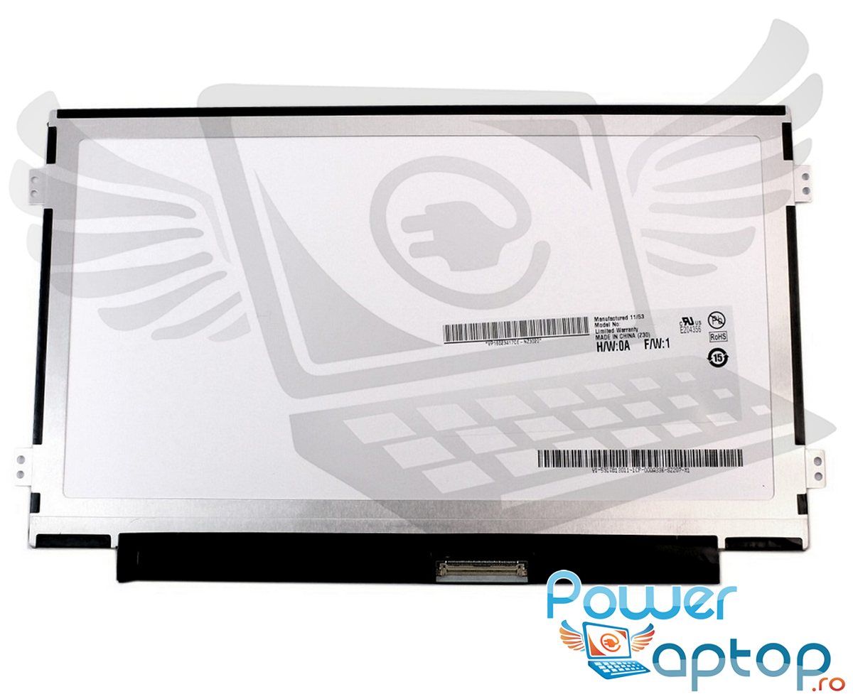 Display laptop Samsung NP N102SP Ecran 10.1 1024x600 40 pini led lvds imagine powerlaptop.ro 2021