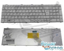 Tastatura Fujitsu Lifebook AH530 alba. Keyboard Fujitsu Lifebook AH530 alba. Tastaturi laptop Fujitsu Lifebook AH530 alba. Tastatura notebook Fujitsu Lifebook AH530 alba