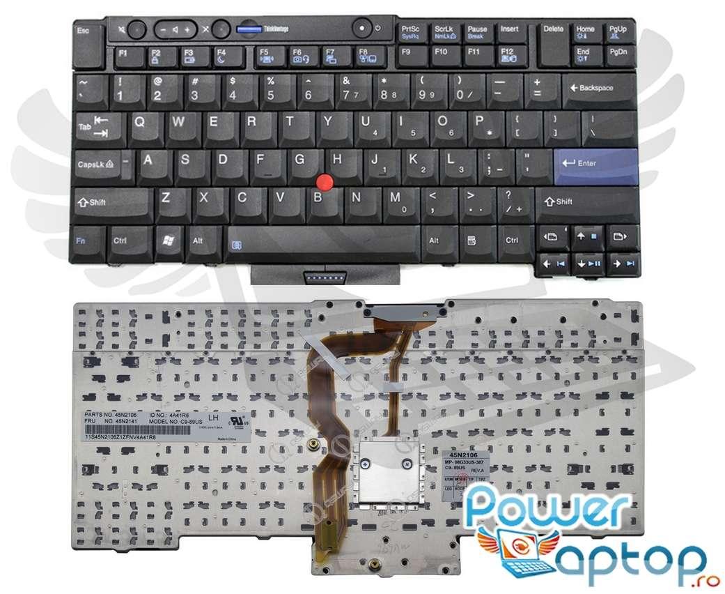 Tastatura IBM ThinkPad T410S imagine