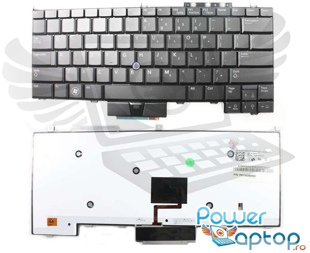 Tastatura Dell Latitude PP13S iluminata backlit imagine