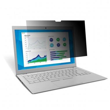 """Folie privacy. Filtru confidentialitate laptop 13.3"""" aspect 16:9 dimensiuni 294x165mm"""