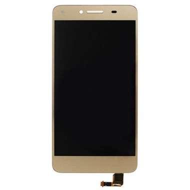 Ansamblu Display LCD + Touchscreen Huawei Y5II CUN-L21 Gold Auriu . Ecran + Digitizer Huawei Y5II CUN-L21 Gold Auriu