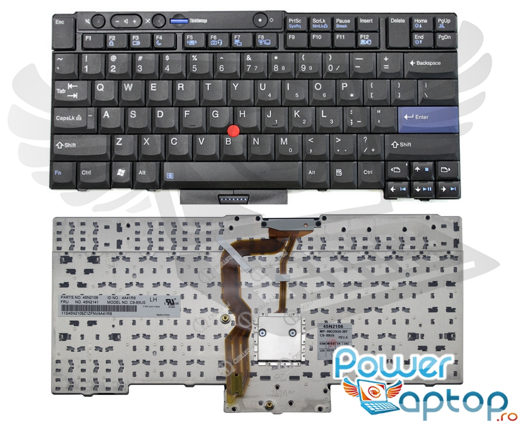 Tastatura IBM ThinkPad T410 2516 imagine