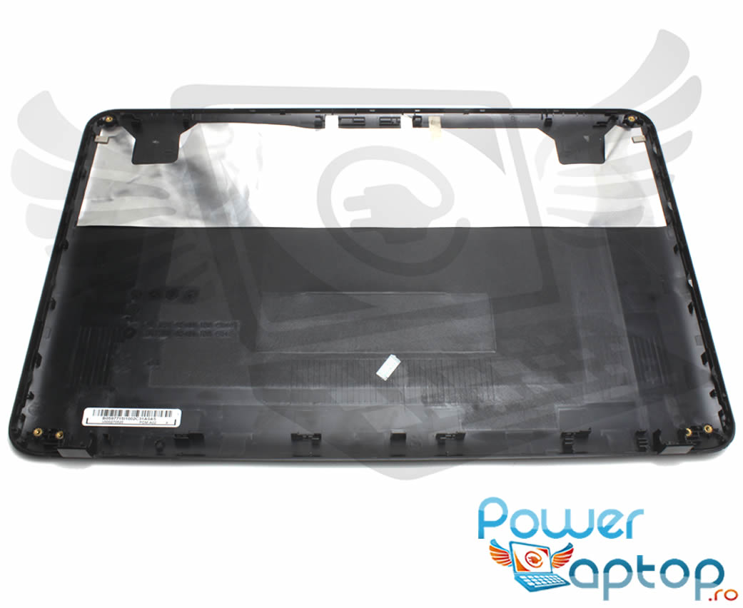 Capac Display BackCover Toshiba Satellite C855D Carcasa Display Neagra imagine powerlaptop.ro 2021