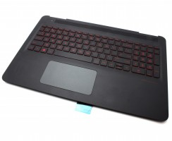 Tastatura HP EAG35002130 Neagra cu Palmrest Negru si TouchPad iluminata backlit. Keyboard HP EAG35002130 Neagra cu Palmrest Negru si TouchPad. Tastaturi laptop HP EAG35002130 Neagra cu Palmrest Negru si TouchPad. Tastatura notebook HP EAG35002130 Neagra cu Palmrest Negru si TouchPad