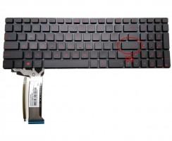 Tastatura Asus  N551JQ neagra iluminata. Keyboard Asus  N551JQ. Tastaturi laptop Asus  N551JQ. Tastatura notebook Asus  N551JQ