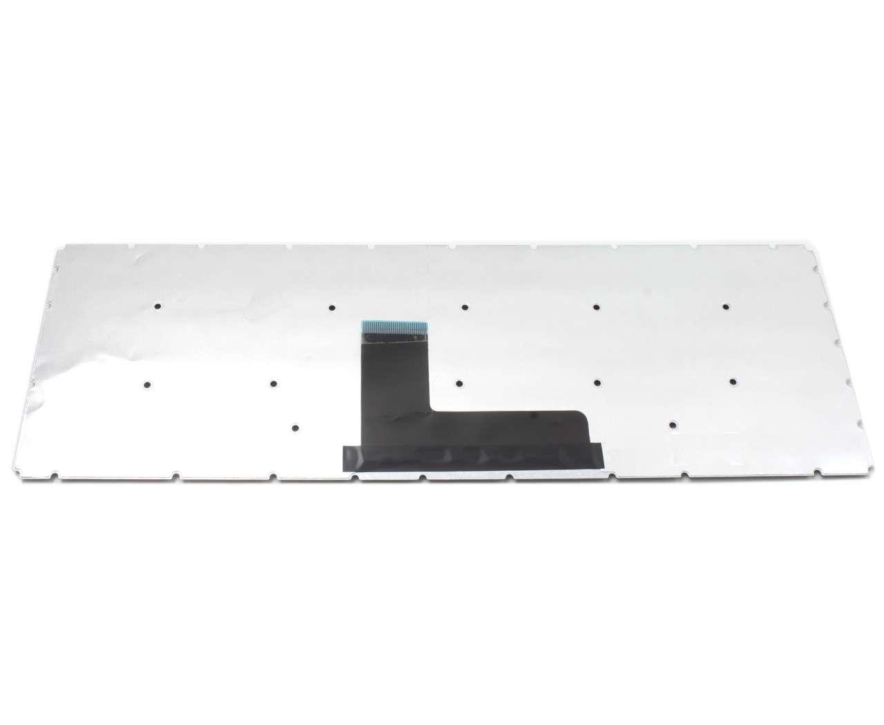 Tastatura Toshiba Satellite C55 C layout US fara rama enter mic imagine powerlaptop.ro 2021