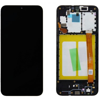 Ansamblu Display LCD + Touchscreen Original Service Pack Samsung Galaxy A20S A207 Black Negru. Ecran + Digitizer Original Service Pack Samsung Galaxy A20S A207 Black Negru