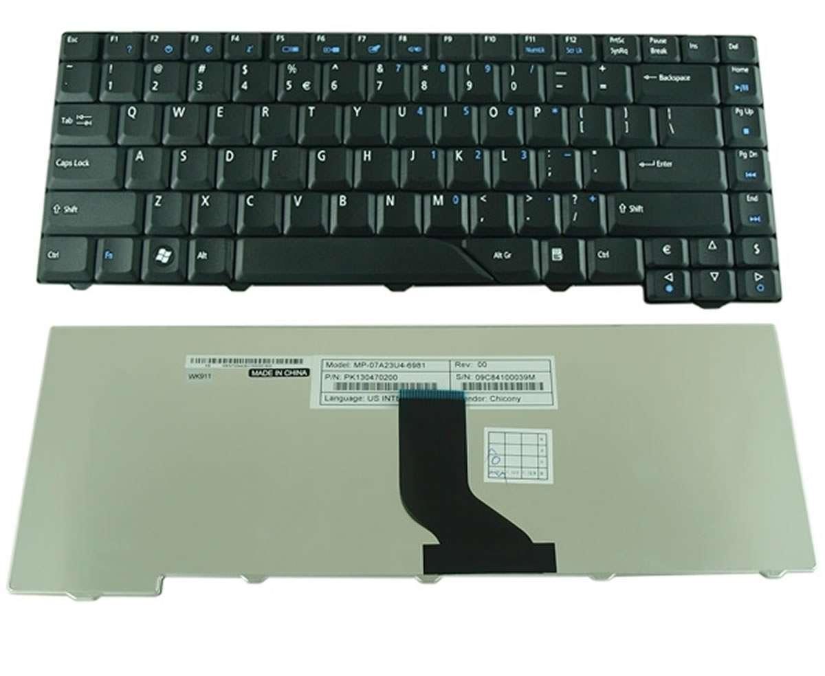 Tastatura Acer PK1301K02A0 neagra imagine