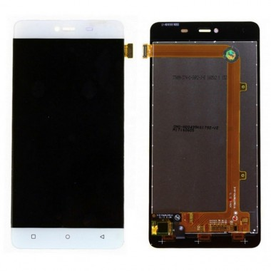 Ansamblu Display LCD + Touchscreen Allview P8 Energy Mini Alb. Ecran + Digitizer Allview P8 Energy Mini Alb