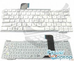 Tastatura Samsung  NC110 A04 alba. Keyboard Samsung  NC110 A04. Tastaturi laptop Samsung  NC110 A04. Tastatura notebook Samsung  NC110 A04