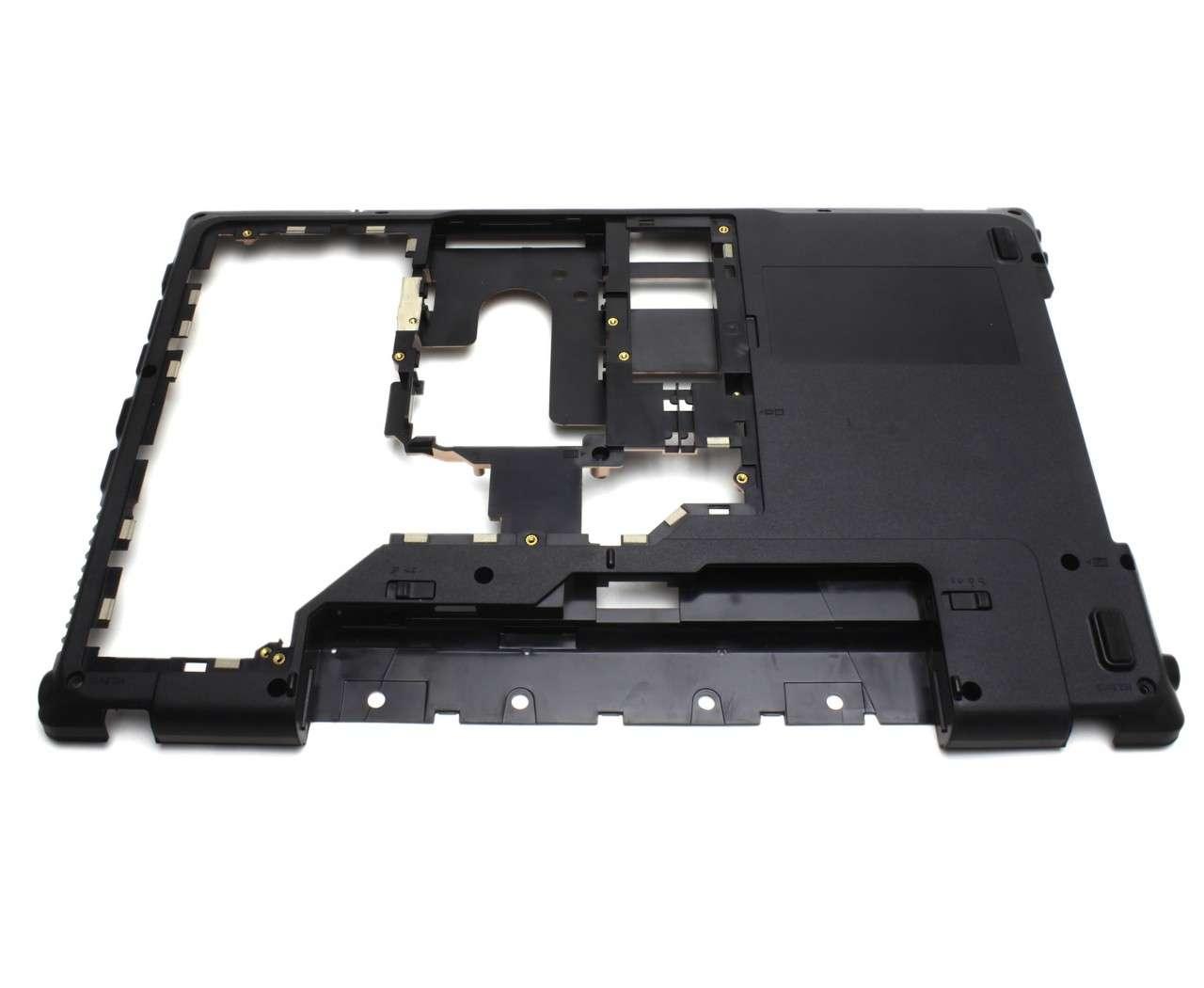 Bottom Case Lenovo AP0BP0008001 Carcasa Inferioara Neagra imagine powerlaptop.ro 2021