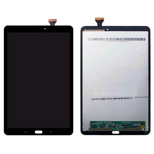 Ansamblu LCD Display Touchscreen Samsung Galaxy Tab E 9.6 T560 Negru imagine powerlaptop.ro 2021