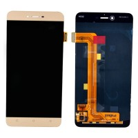 Ansamblu Display LCD + Touchscreen Allview X3 Soul Gold . Ecran + Digitizer Allview X3 Soul Gold