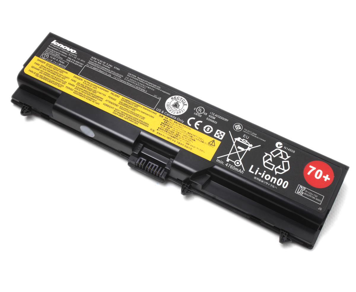 Baterie Lenovo ThinkPad L510 Originala 57Wh 70+ imagine powerlaptop.ro 2021