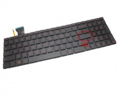 Tastatura Asus  GL552J iluminata. Keyboard Asus  GL552J. Tastaturi laptop Asus  GL552J. Tastatura notebook Asus  GL552J