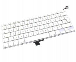 Tastatura Apple MacBook A1342 2010 Alba. Keyboard Apple MacBook A1342 2010. Tastaturi laptop Apple MacBook A1342 2010. Tastatura notebook Apple MacBook A1342 2010