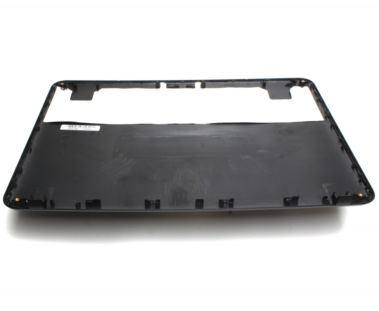 Capac Display BackCover Toshiba Satellite L850 Carcasa Display Neagra cu 2 Suruburi Balamale imagine powerlaptop.ro 2021