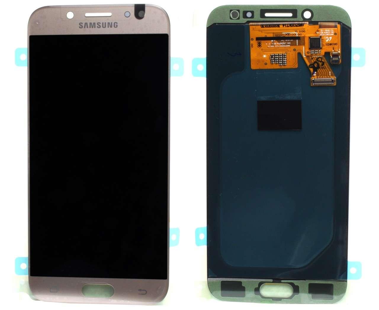 Display Samsung Galaxy J5 2017 J530 Display Original Service Pack Gold Auriu imagine powerlaptop.ro 2021