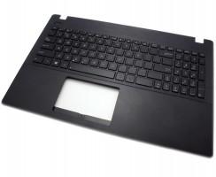 Tastatura Asus  R512M neagra cu Palmrest negru. Keyboard Asus  R512M neagra cu Palmrest negru. Tastaturi laptop Asus  R512M neagra cu Palmrest negru. Tastatura notebook Asus  R512M neagra cu Palmrest negru