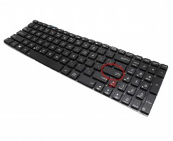Tastatura Asus N56VZ iluminata. Keyboard Asus N56VZ. Tastaturi laptop Asus N56VZ. Tastatura notebook Asus N56VZ