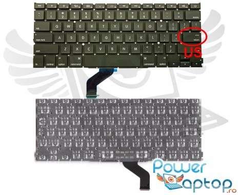 """Tastatura Apple MacBook Pro 13"""" A1425 MD212LL/A. Keyboard Apple MacBook Pro 13"""" A1425 MD212LL/A. Tastaturi laptop Apple MacBook Pro 13"""" A1425 MD212LL/A. Tastatura notebook Apple MacBook Pro 13"""" A1425 MD212LL/A"""