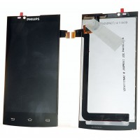 Ansamblu Display LCD  + Touchscreen Philips S398. Modul Ecran + Digitizer Philips S398