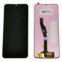 Ansamblu Display LCD + Touchscreen Huawei  Y6P 2020 MED-LX9N Black Negru . Ecran + Digitizer Huawei  Y6P 2020 MED-LX9N Black Negru