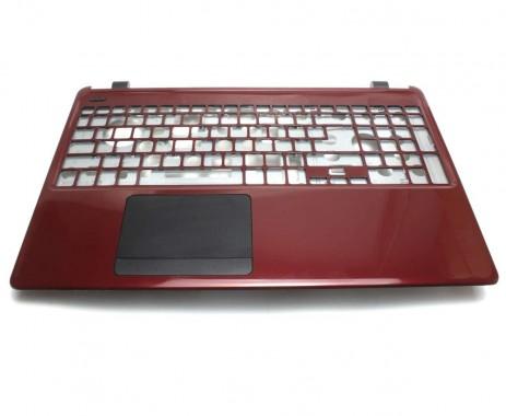 Palmrest Acer Travelmate TMP255 MPG. Carcasa Superioara Acer Travelmate TMP255 MPG Visiniu cu touchpad inclus