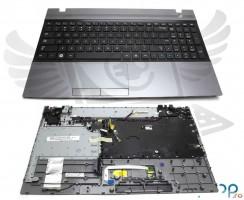 Tastatura Samsung  NP300V5C neagra cu Palmrest gri. Keyboard Samsung  NP300V5C neagra cu Palmrest gri. Tastaturi laptop Samsung  NP300V5C neagra cu Palmrest gri. Tastatura notebook Samsung  NP300V5C neagra cu Palmrest gri
