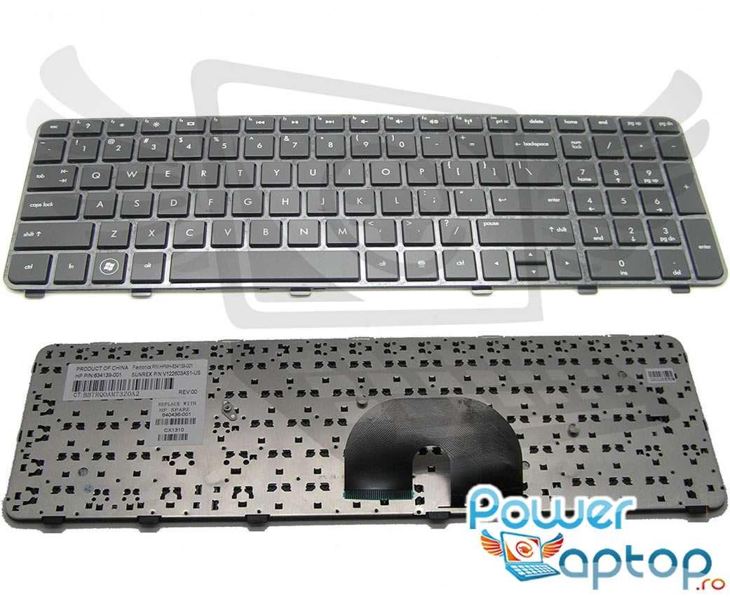 Tastatura HP MH 634139 071 Neagra imagine powerlaptop.ro 2021