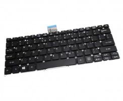 Tastatura Acer Aspire V5 132 layout US fara rama enter mic