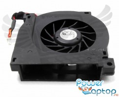 Cooler laptop Dell Latitude 510M. Ventilator procesor Dell Latitude 510M. Sistem racire laptop Dell Latitude 510M