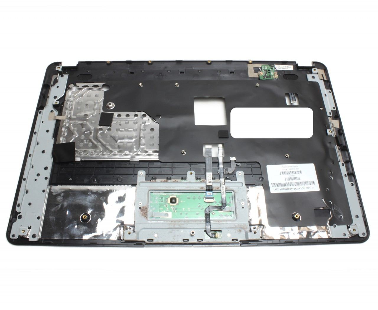 Palmrest HP 630 Negru cu touchpad imagine powerlaptop.ro 2021
