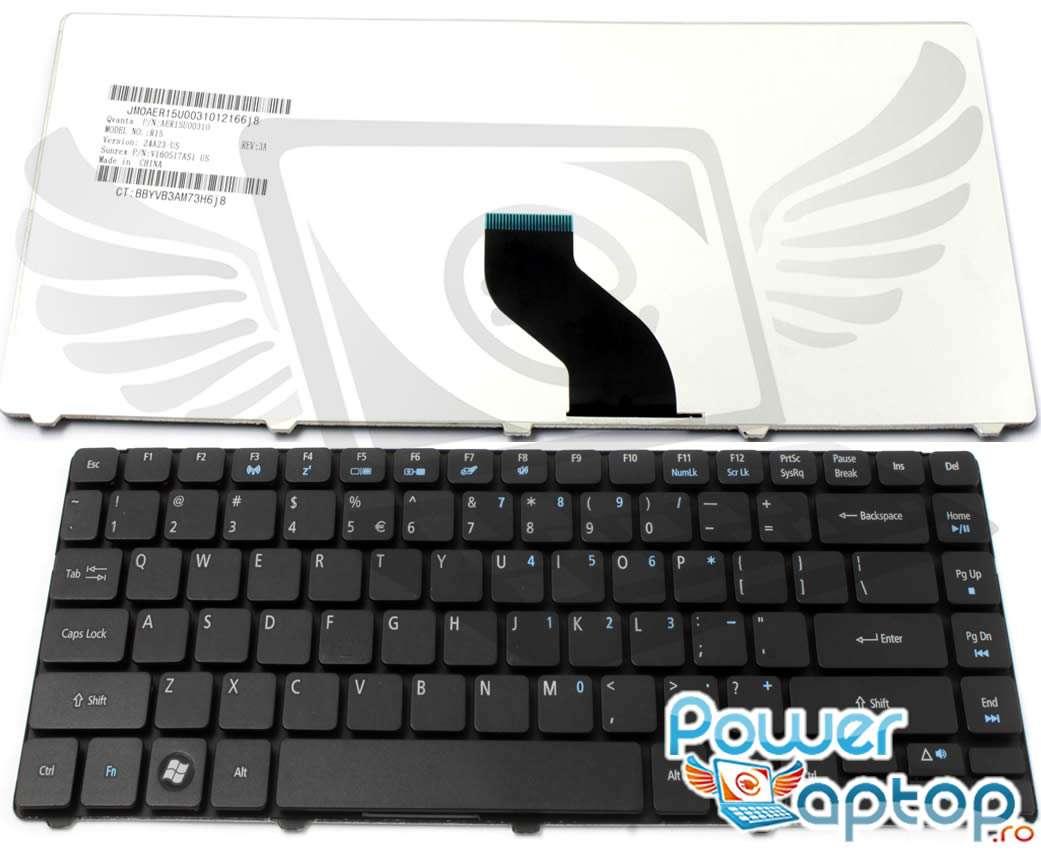 Tastatura eMachines D443 imagine powerlaptop.ro 2021