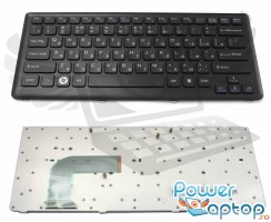 Tastatura Sony Vaio VGN CS115DP. Keyboard Sony Vaio VGN CS115DP. Tastaturi laptop Sony Vaio VGN CS115DP. Tastatura notebook Sony Vaio VGN CS115DP