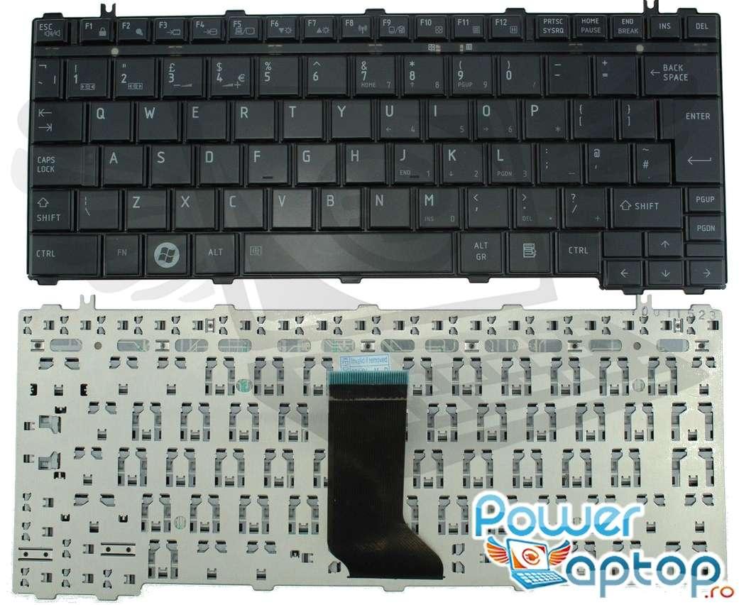 Tastatura Toshiba Portege M900 neagra imagine