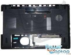 Bottom Packard Bell Easynote TK81 V1 60.R4F02.002. Carcasa Inferioara Packard Bell Easynote TK81 V1 Neagra