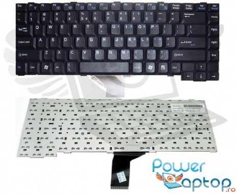 Tastatura Benq Joybook R22E neagra. Keyboard Benq Joybook R22E neagra. Tastaturi laptop Benq Joybook R22E neagra. Tastatura notebook Benq Joybook R22E neagra