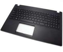 Tastatura Asus  R512MAV neagra cu Palmrest negru. Keyboard Asus  R512MAV neagra cu Palmrest negru. Tastaturi laptop Asus  R512MAV neagra cu Palmrest negru. Tastatura notebook Asus  R512MAV neagra cu Palmrest negru