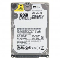Hard Disk laptop Western Digital WD3200BUCT WD AV-25 320GB 5400rpm 8MB SATA 2